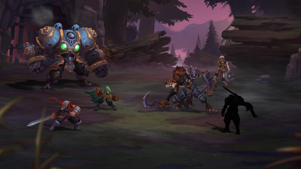 Battle Chasers Nightwar Screenshot 1