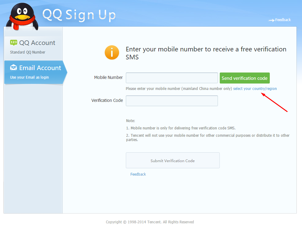 How To Make a QQ Account and Download Monster Hunter Online (2)