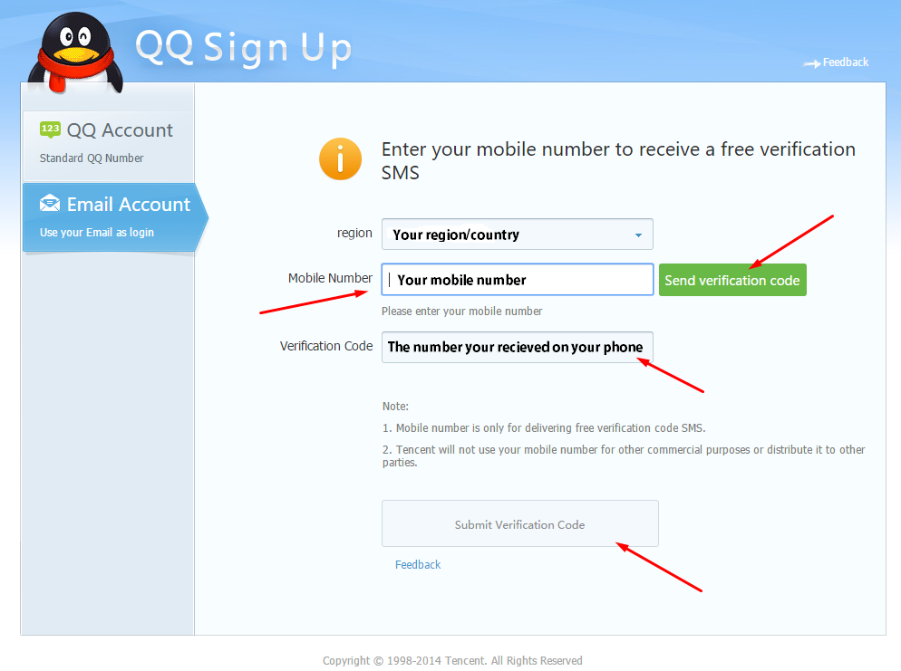 How To Make a QQ Account and Download Monster Hunter Online (3)
